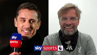 Jurgen Klopp jokes about Gary Neville having an opinion on everything & discusses 'Project Restart'