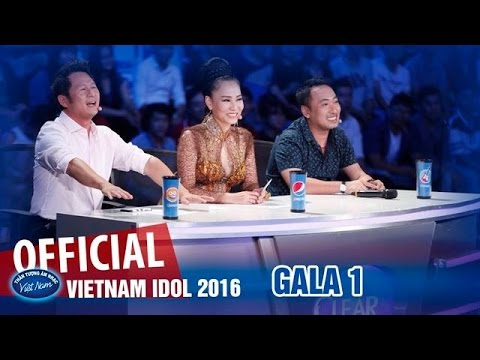 VIETNAM IDOL 2016 - GALA 1 - FREE STYLE - FULL HD