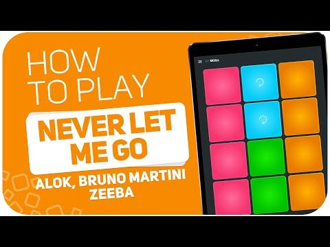 How to play: NEVER LET ME GO (Alok, Bruno Martini, Zeeba) - SUPER PADS - Kit Skull