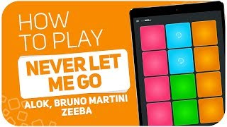 Baixar How to play: NEVER LET ME GO (Alok, Bruno Martini, Zeeba) - SUPER PADS - Kit Skull