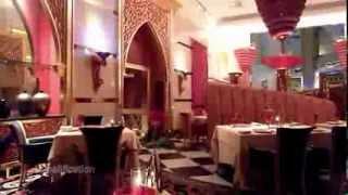 Iwan Restaurant in Burj Al Arab Hotel, Dubai Full view_HD_HQ