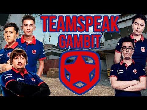 Teamspeak Gambit против Astralis на DreamHack Masters Malmö 2017