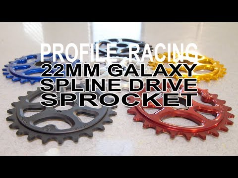 Everything You Need To Know About The Profile Racing 22mm Galaxy Spline Drive Sprocket
