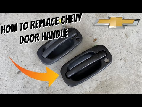 How to Replace Exterior Door Handle – Chevy Silverado, Chevy/GMC Trucks 1999-2006