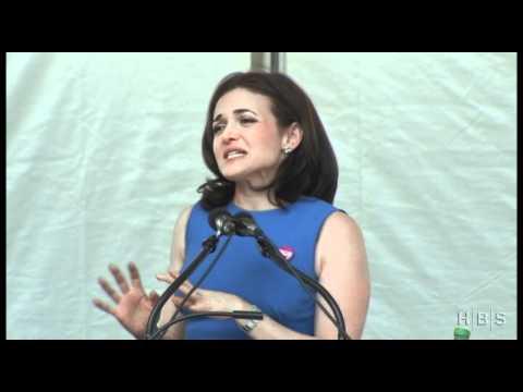 """Sheryl Sandberg Addresses the Harvard Business School Class of 2012"""