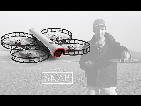 Introducing Vantage Robotic's Snap. The first safe portable flying camera.