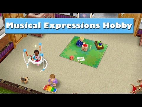 SIMS FREEPLAY MUSICAL EXPRESSIONS HOBBY