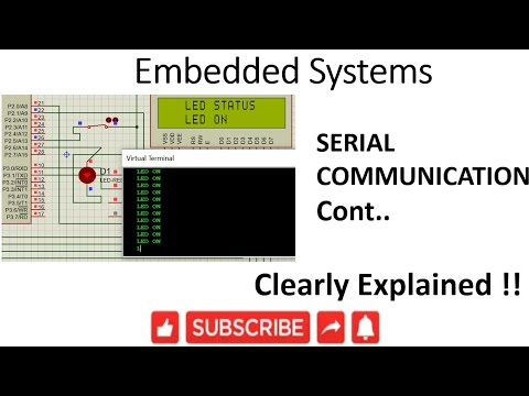 [ES-EN-28]8051 Serial Communication continuation -lesson -28