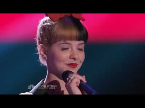 Melanie Martinez - Toxic - Full Blind Audition Performance (The Voice).