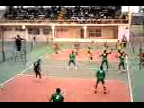 National sports festival Eko 2012 match between Imo state and Bayelsa state,Volleyball.
