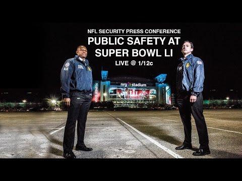 Public Safety at Super Bowl LI