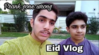 Small Prank with Cousin Gone Wrong | Best Vlog on Eid