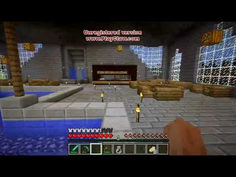 Minecraft Mansion Interior Furniture House Ideas YouTube