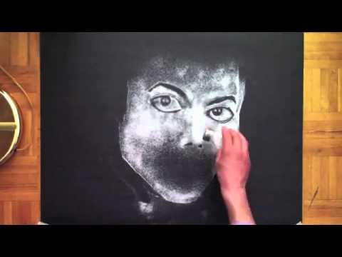 Nghệ thuật vẽ chân dung bằng muối.flv