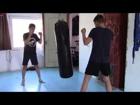 Training KickBoxing