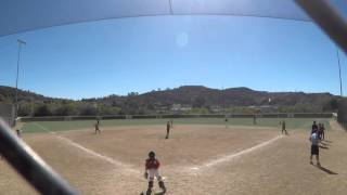 play at plate - pissed off parents and umpire