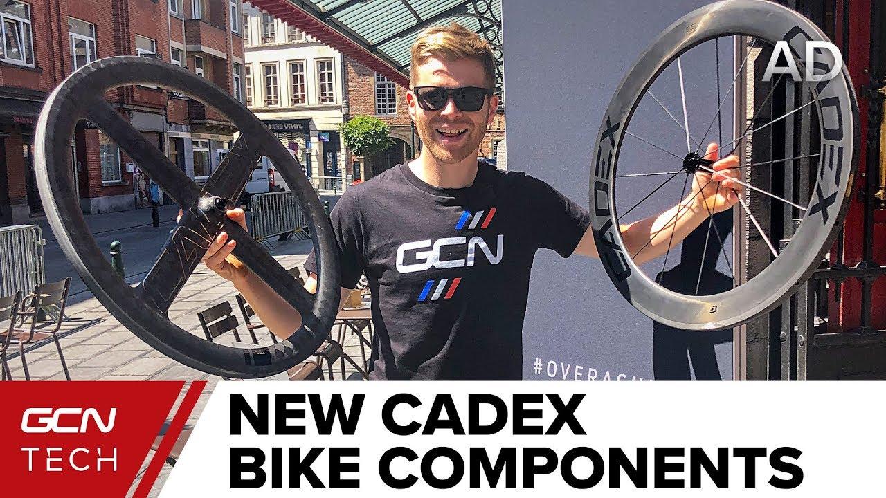 dd2e75a9301 New Cadex First Look | Hot Tour de France Tech - YouTube