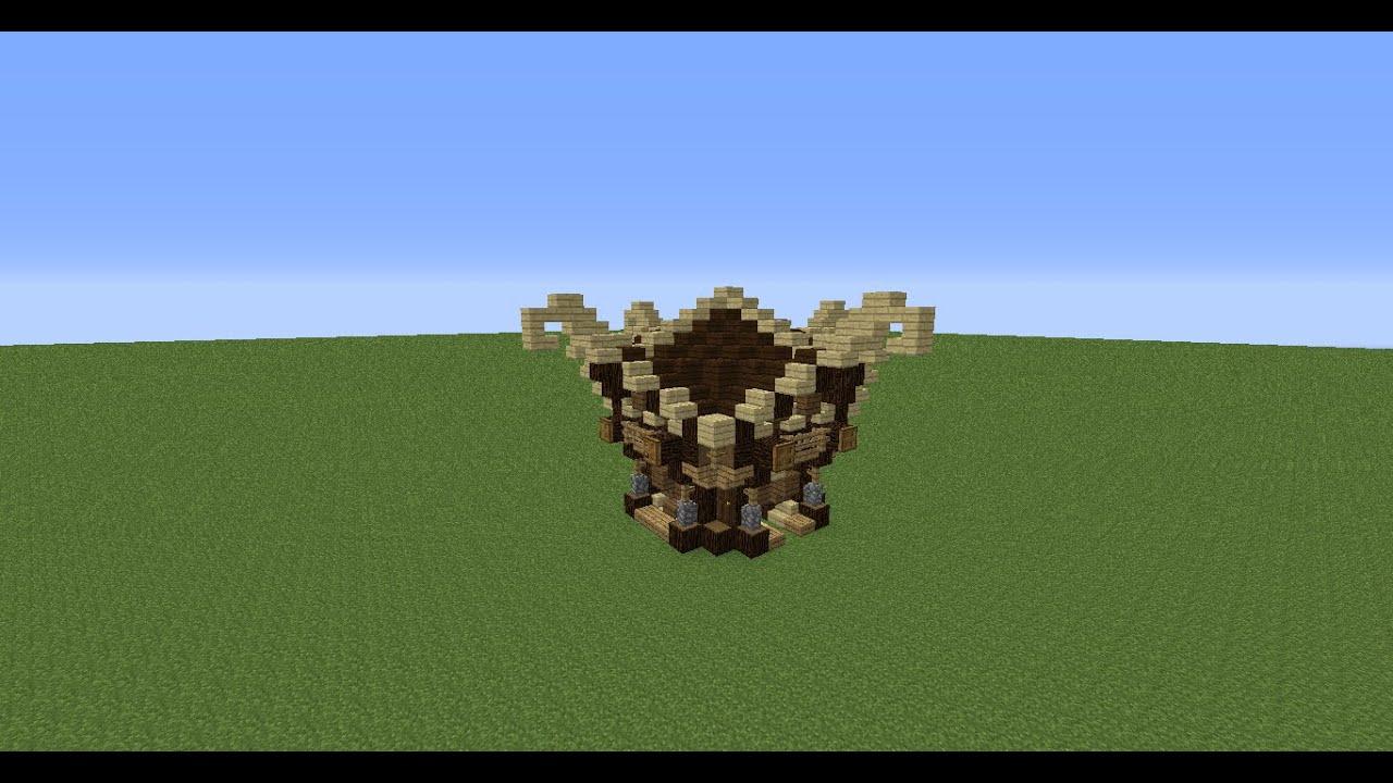 Tuto Minecraft Comment Faire Une Maison Medieval Elfique