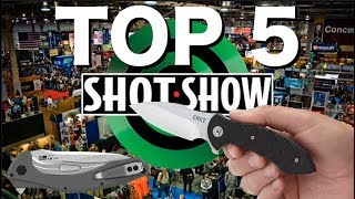 SHOT Show Knives 2018: My Top 5 Favorite -- Budget Bugout