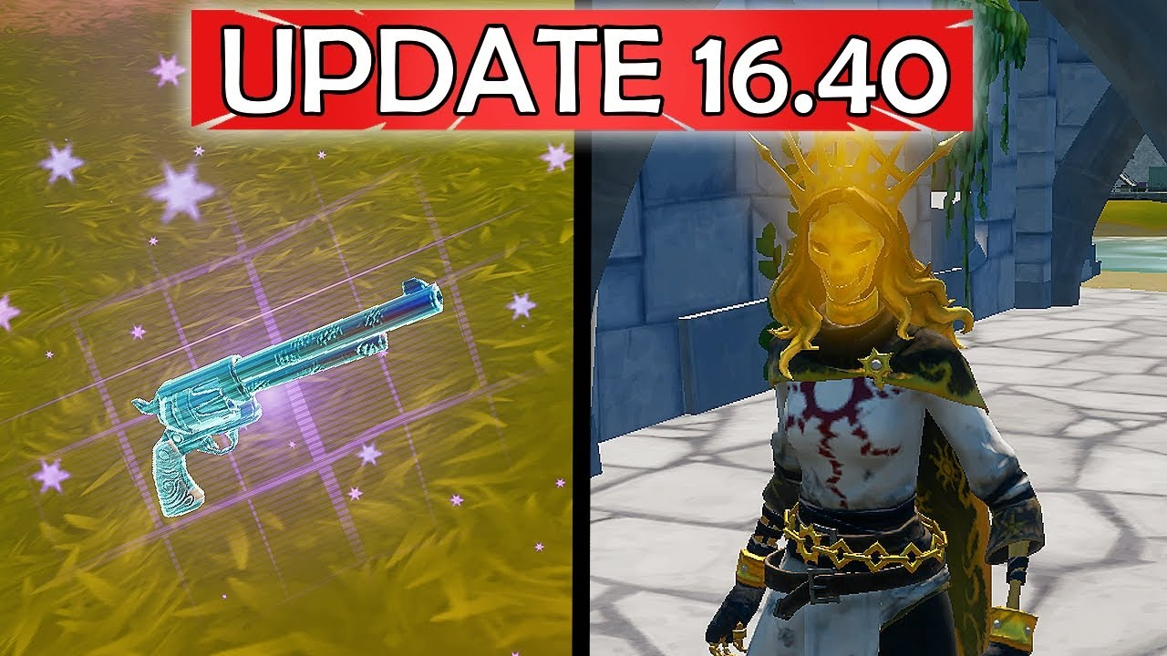 EVERYTHING NEW In 1640 Orelia NPC u0026 More Content UPDATE  Fortnite