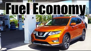 2018 Nissan X-Trail/Rogue - Fuel Economy MPG Review + Fill Up Costs