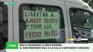 Marcha del kirchnerismo en apoyo a Amado Boudou