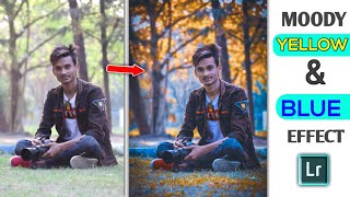 Gambar cover How to Edit Moody Yellow & Blue Tone in Lightroom Mobile Editing Tutorial || SK EDITZ