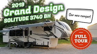 Our New Camper! 2019 Grand Design Solitude 3740BH Tour