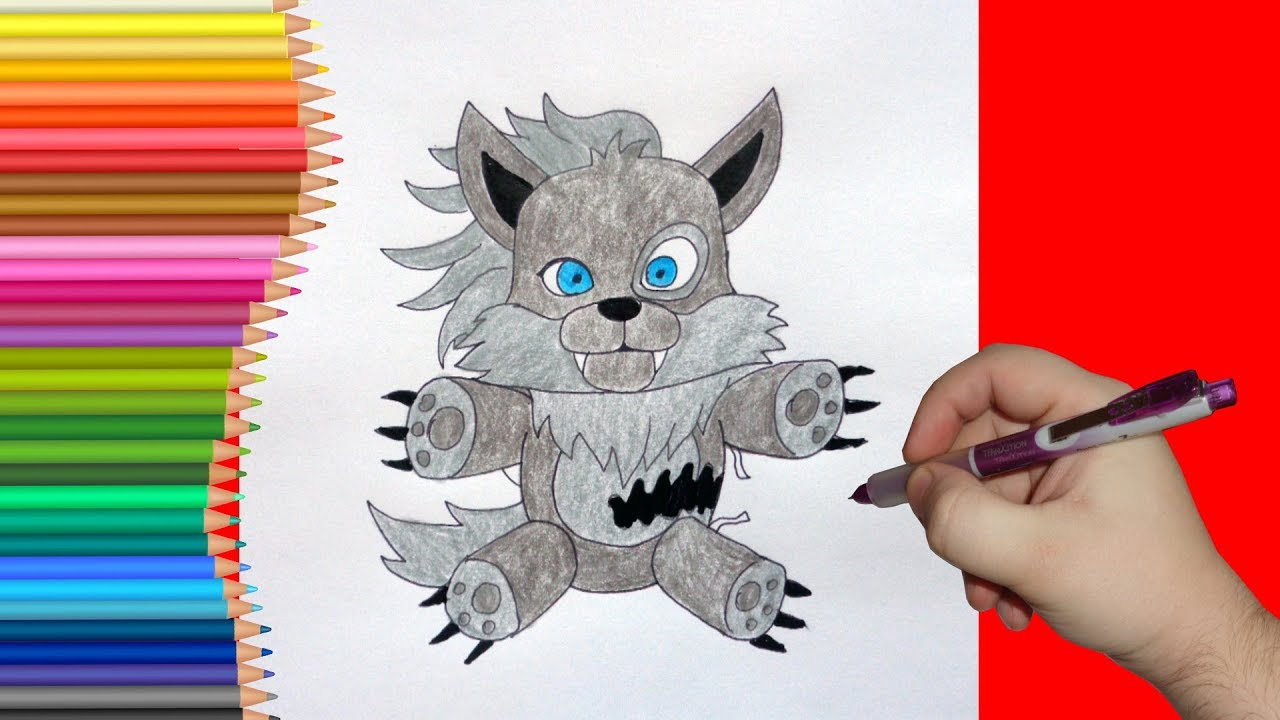 how to make a wolf plush