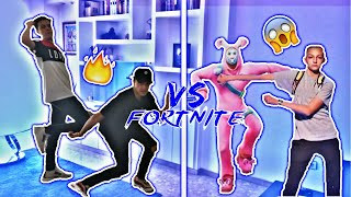 🔥 LIKE A BOSS 🔥 IMITATING NEW DANCES OF FORTNITE WITH ELFINGERS | JAH WARRIOR