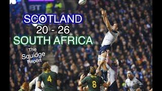 Scotland 20 - 26 South Africa | The Squidge Report