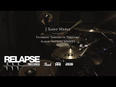 ULCERATE - Jamie Saint Merat - 'Shrines of Paralysis' Drum Tracking