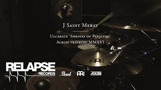 ULCERATE – Jamie Saint Merat – 'Shrines of Paralysis' Drum Tracking