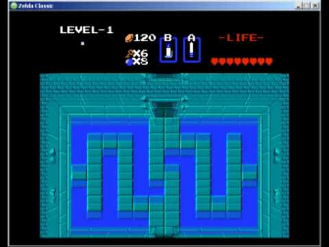 Zelda Classic - Legend of Zelda - 1st Quest - 2 - Levels 1, 2, 4, 6