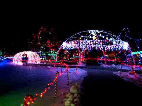2010 Rotary Winter Wonderland Marshfield, Wisconsin - YouTube