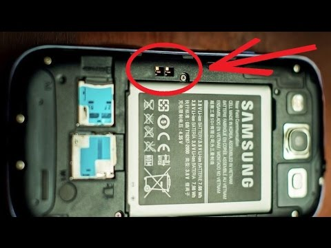 How to charge Samsung Galaxy S3 or S4 with Broken charging port / Another way of charging ✔