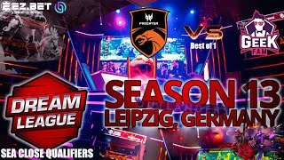 Tnc Predator vs GeekFam | Best of 1 | DreamLeague Season 13 | SEA Close Qualifier TIE BREAKER