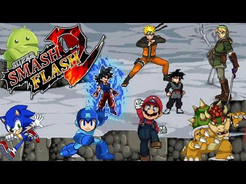 SAIU Super Smash Flash 2 Pra Android - MOD - Download + Tutorial De Instalamento-VEJA ATE O FIM