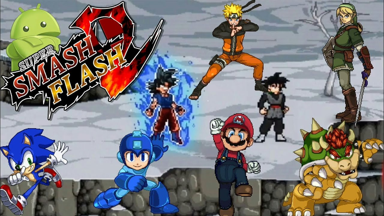 super smash bros flash download