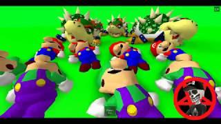 Roblox Mess With Mario & Luigi Ragdolls With Bowser!