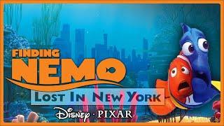 The Boys visit the big city! Where's that little orange fellow...