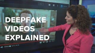 Tech expert explains deepfake videos