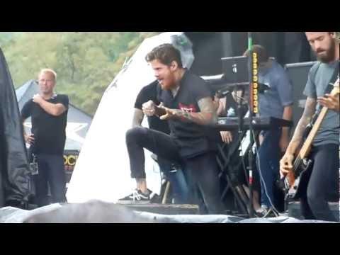 The Devil Wears Prada - Born To Lose - Mayhem Fest 2012 - Pittsburgh, PA