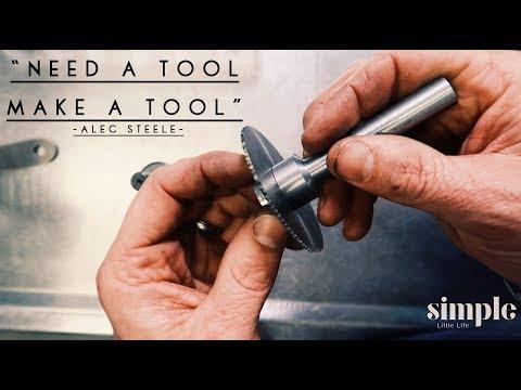 Making a slitting-saw arbor