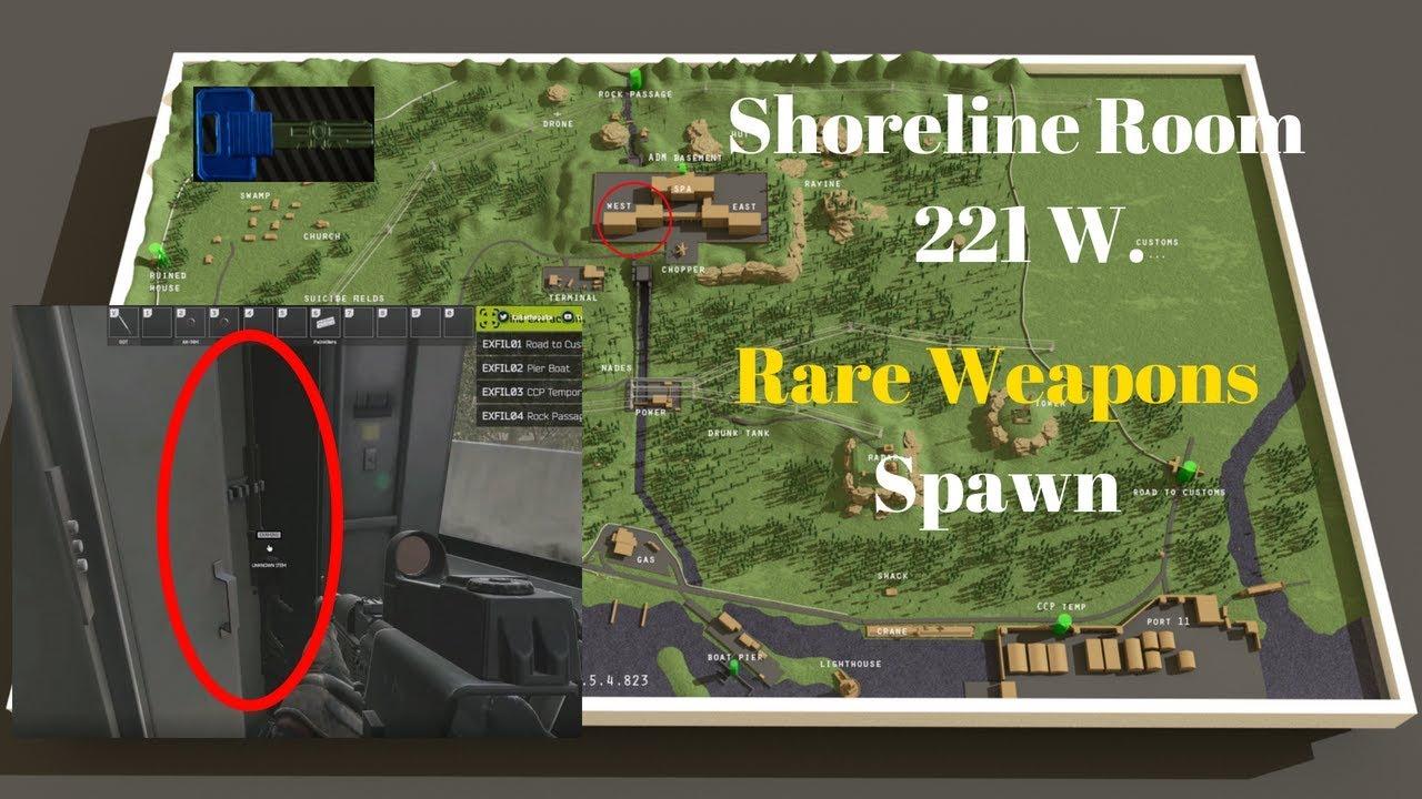 Shoreline 221 (Best Rare Weapon Spawn) Epic Loot Guide