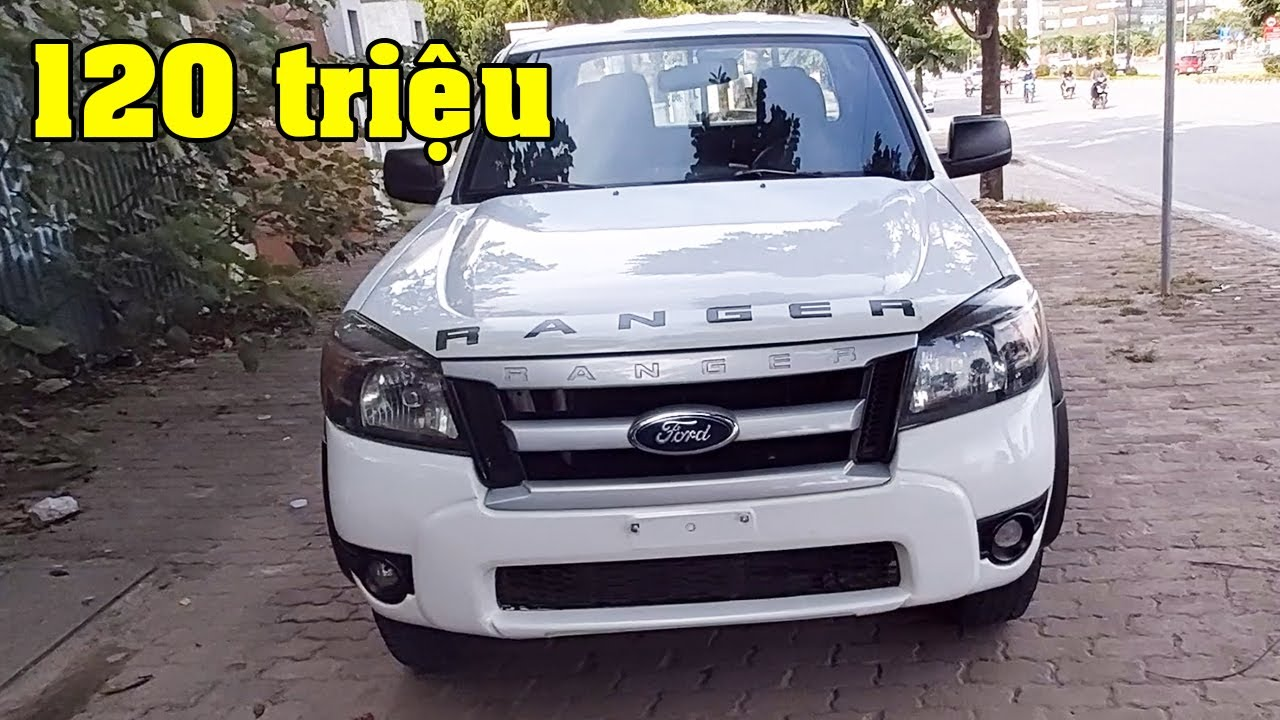 Ford Ranger 2009 2.5L 4x4 MT máy dầu số sàn 2 cầu giá 120 triệu