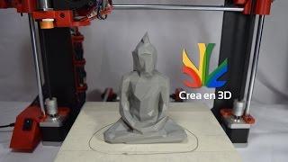 Timelapse de un Shiva impreso en 3D