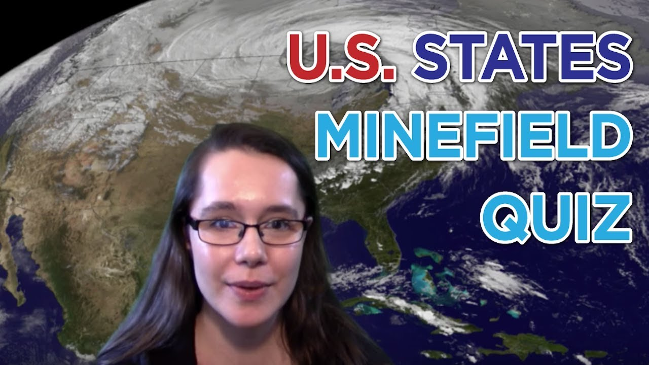 Playing The Find The US States Minefield Quiz YouTube - Us states map quiz sporcle