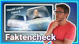 Harald Lesch zu Elektroautos - alte Zahlen, alte Mythen