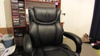 Lazboy black Executive Office Chair Review